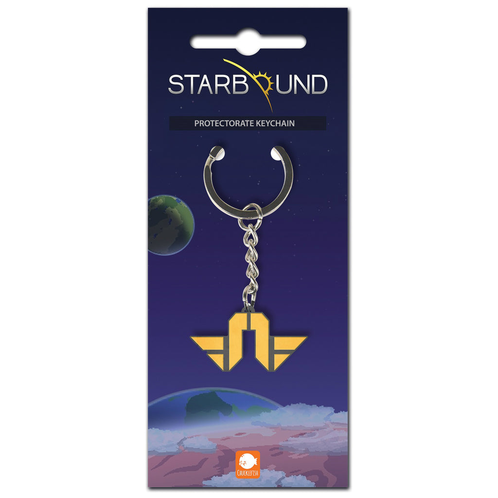 Starbound Terrene Protectorate Key Ring