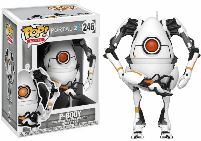 Portal 2 P-Body Pop! Vinyl Figure