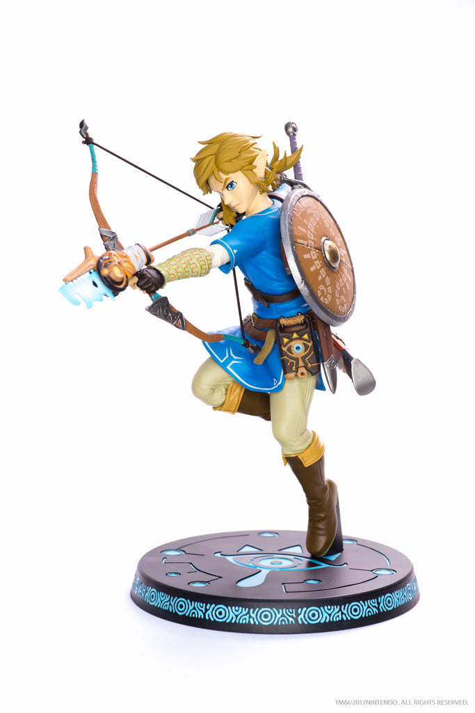 The Legend of Zelda: Breath of the Wild - Link PVC Statue