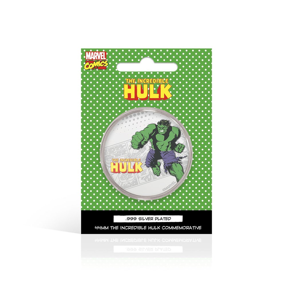Marvel Hulk MCM Comic Con Exclusive Collectible Coin