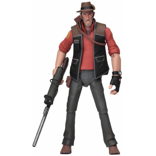 "Team Fortress 2 RED Sniper 7"" Action Figure PREORDER"