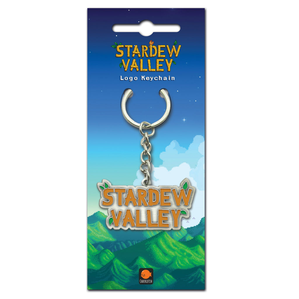 Stardew Valley Logo Key Ring