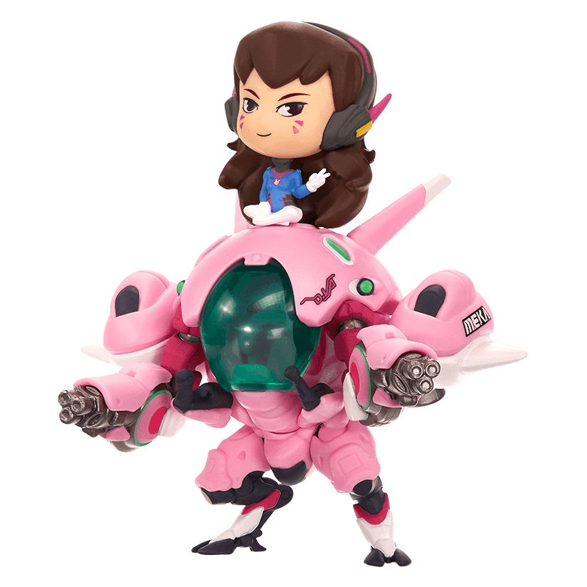 Overwatch D.Va w/ Meka Cute But Deadly Figure