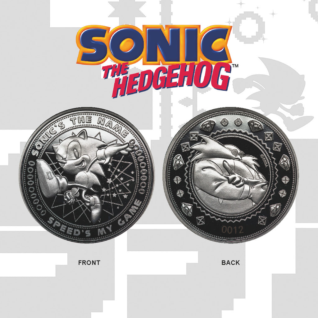 Sonic the Hedgehog Speed Collectible Coin