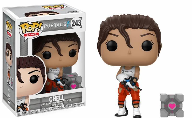 Portal 2 Chell With Portal Gun Pop! Vinyl Figure