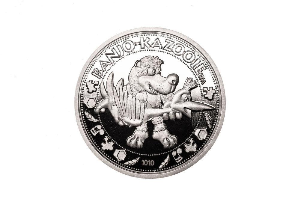 Banjo Kazooie Collectible Coin