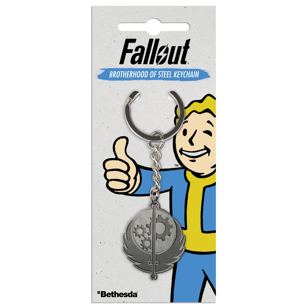 Fallout Brotherhood Of Steel Key Ring PREORDER