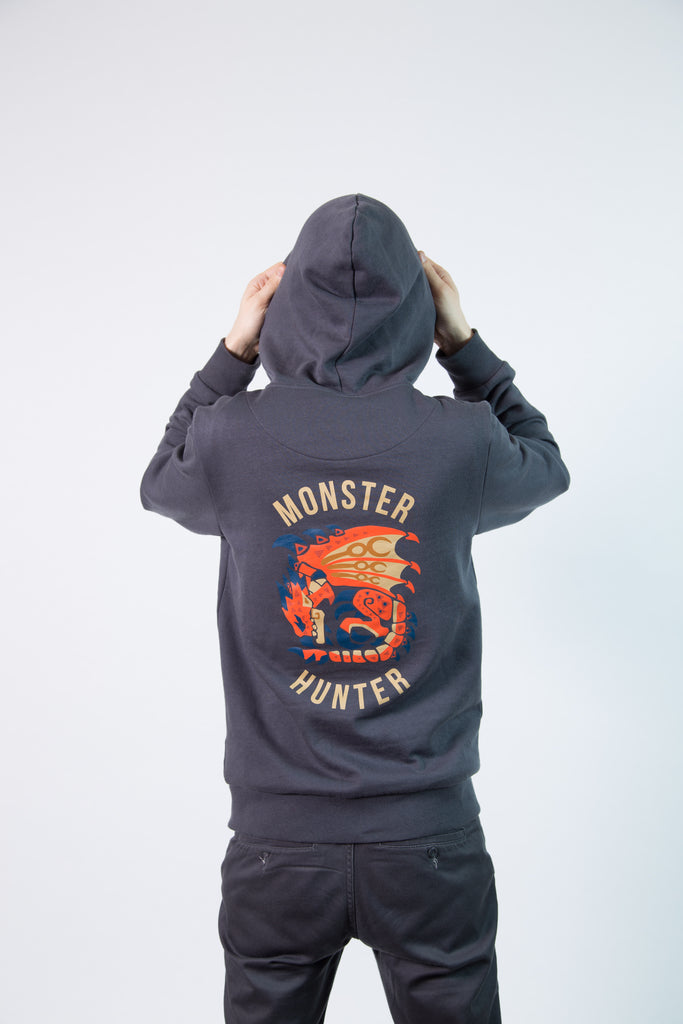 Monster Hunter World Rathalos Zipper Hoodie