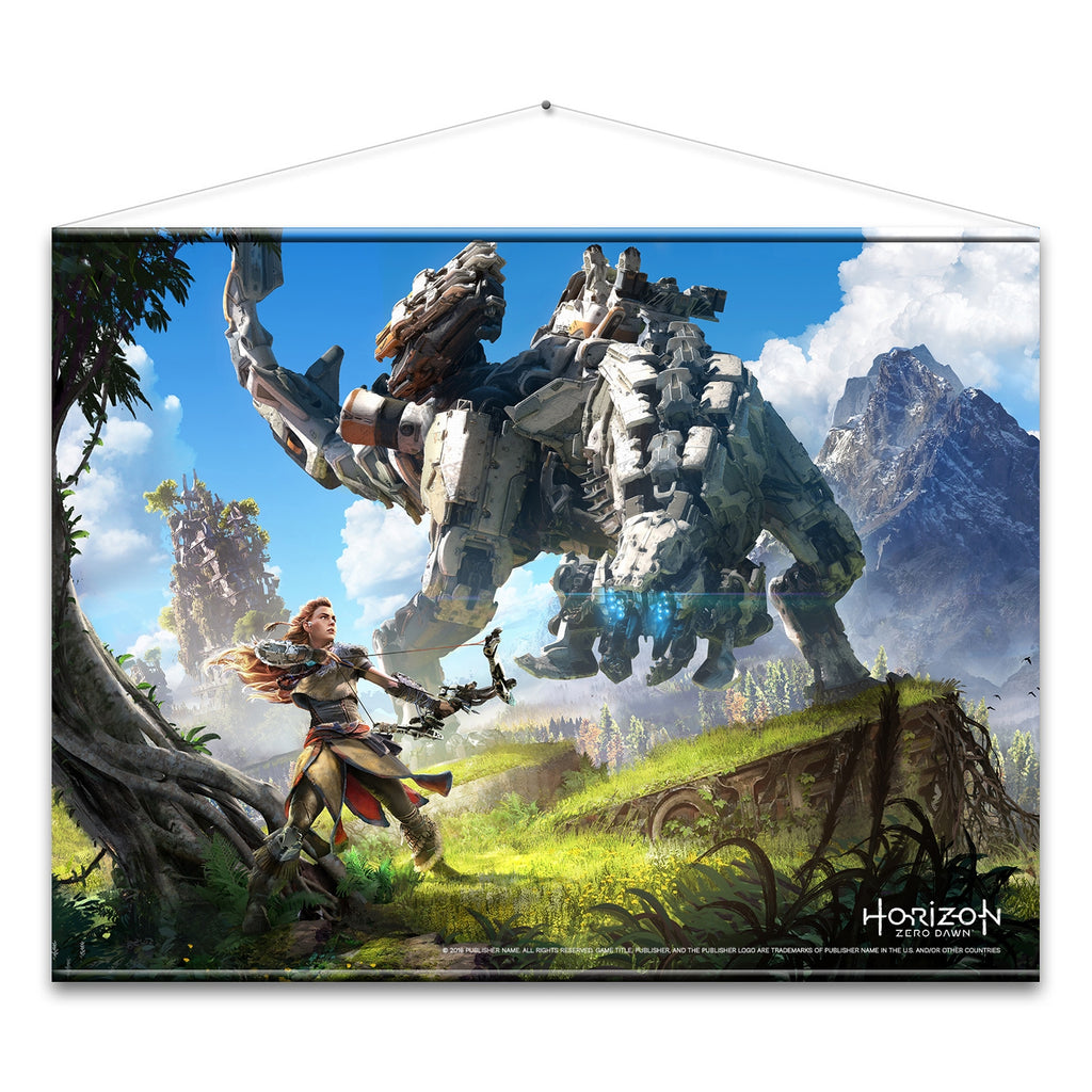 Horizon Zero Dawn - Cover Art Wall Scroll