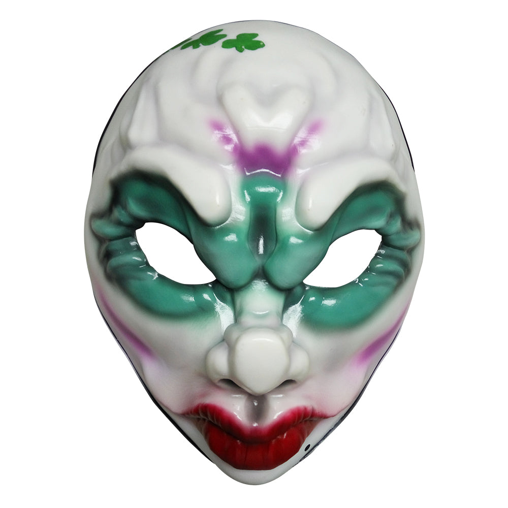 Payday 2 Face Mask Clover