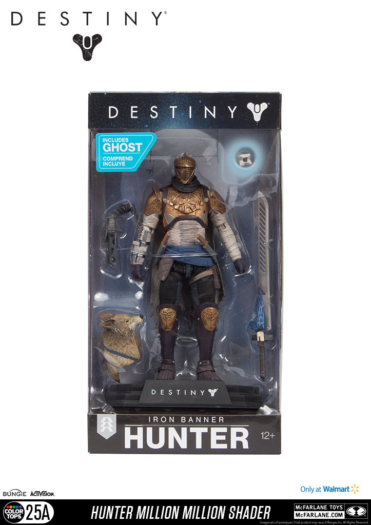 Destiny Iron Banner Hunter Million Million Shader Figure PREORDER