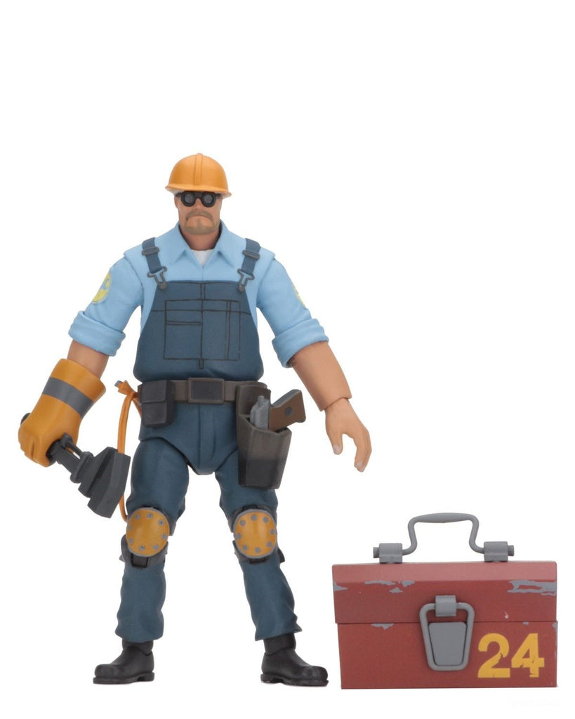 "Team Fortress 2 BLU Engineer 7"" Action Figure"
