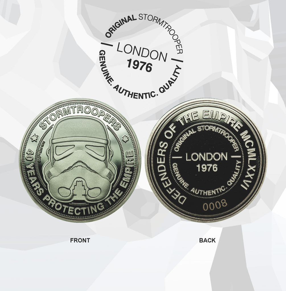 Star Wars Stormtrooper Defending the Empire Collectible Coin