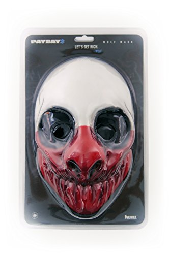 Payday 2 Face Mask Wolf