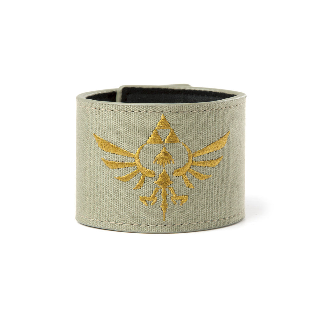 Zelda Green Canvas Wristband