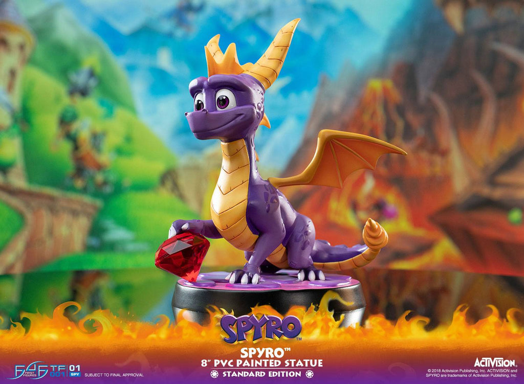 Spyro the Dragon PVC 20cm Statue