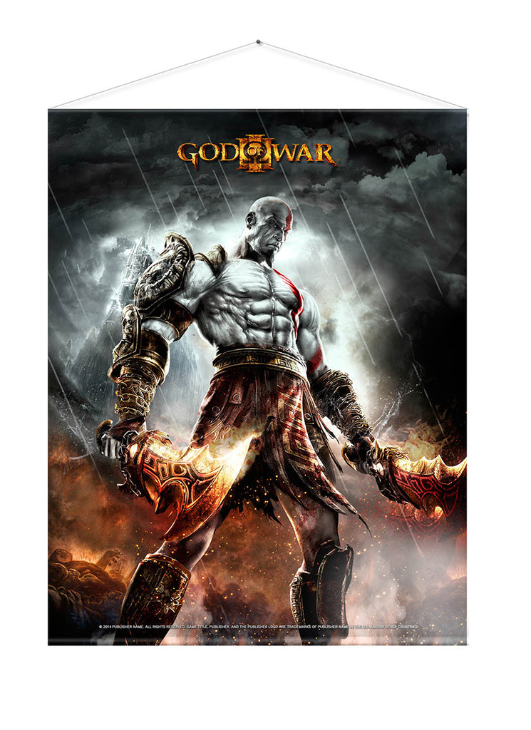 God of War 3 - WAR Wall Scroll