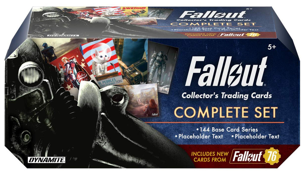 Fallout Trading Cards Series 1 Complete Base Set w/Bonus Cards & Packs