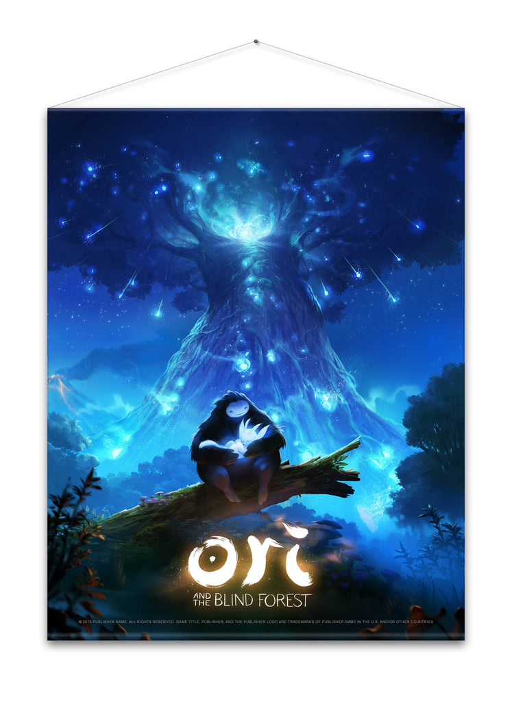 Ori and the Blind Forest - Keyart Wall Scroll