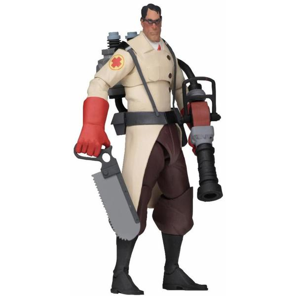 "Team Fortress 2 RED Medic 7"" Action Figure"