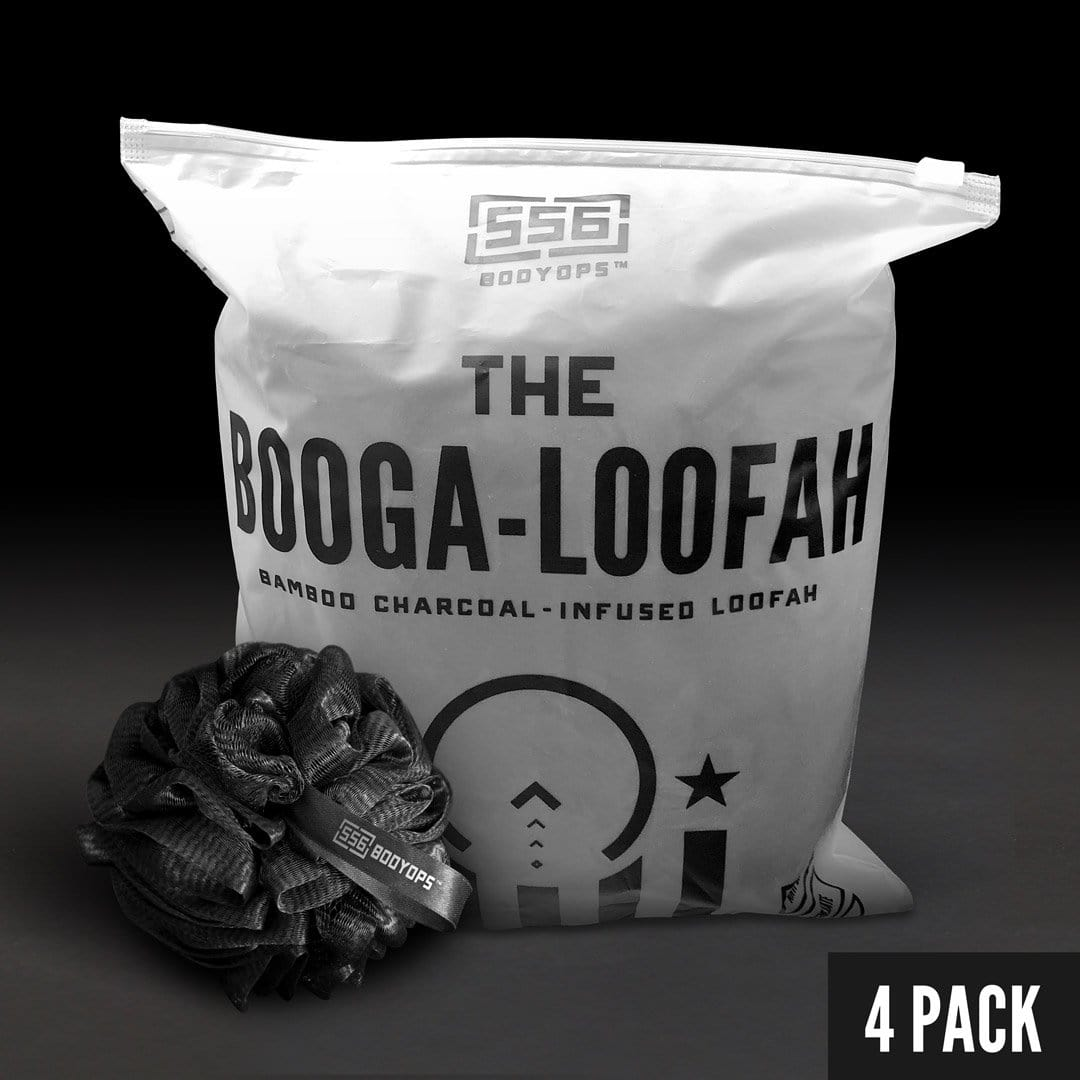 The Booga-Loofah 4 Pack