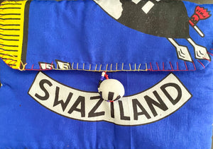 Swaziland Fabric Pouch