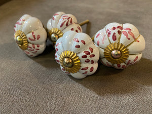 Handcrafted and Hand Painted Ceramic Door Knobs