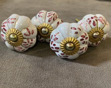 Load image into Gallery viewer, Handcrafted and Hand Painted Ceramic Door Knobs