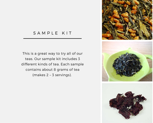 Tea Sample Kit