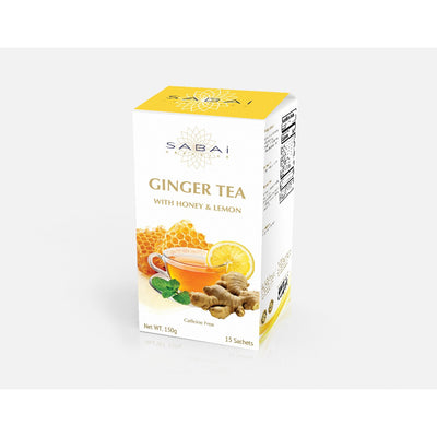 Ginger Tea with Honey & Lemon - Spa Expert