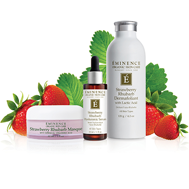 Strawberry Rhubarb Hyaluronic Serum - Spa Expert