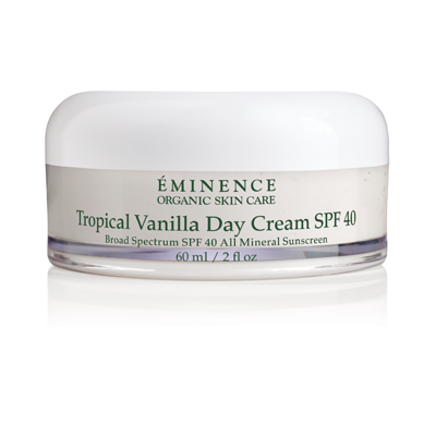 Tropical Vanilla Day Cream Face SPF 40 - Spa Expert