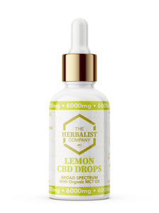 The Herbalist Co Sports Range CBD Oil