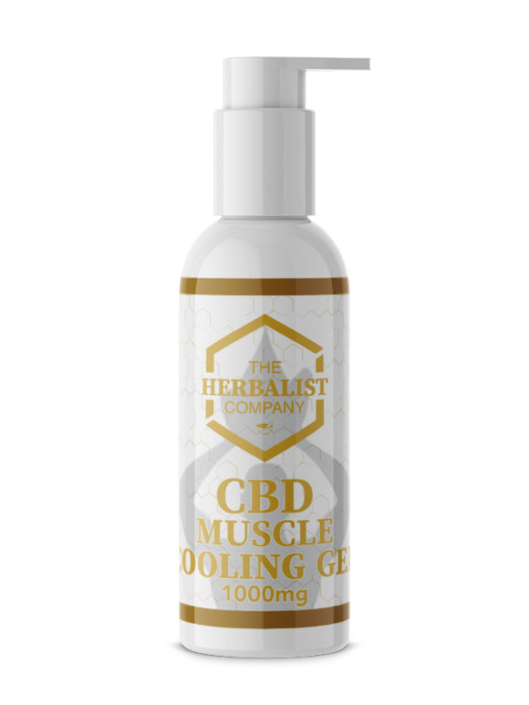 The Herbalist Company CBD Muscle Cooling Gel