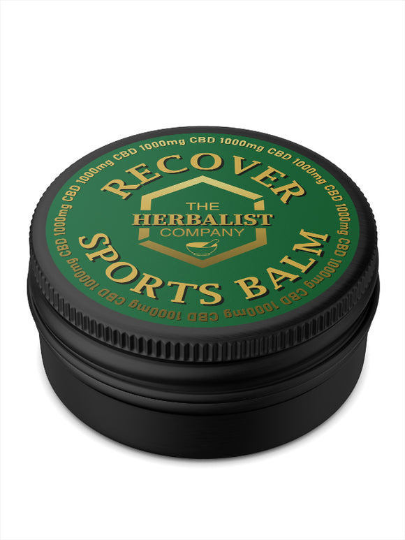 The Herbalist Co. 1000mg - Sports Recovery Balm