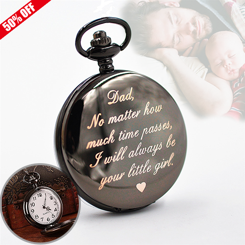 Father's Day -The Best Gift - Pocket Watch - BestBck