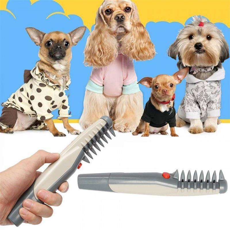 Electric Pet Grooming Comb | Pain-Free Trimmer - BestBck