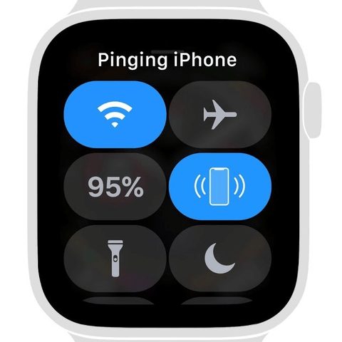 Pinging iphone with apple watch