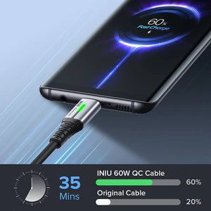 60W USB-C To USB Type C Cable For Fast Charging