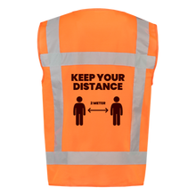 Load image into Gallery viewer, Safety Vests - Keep Your Distance