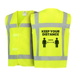 Safety Vests - Keep Your Distance