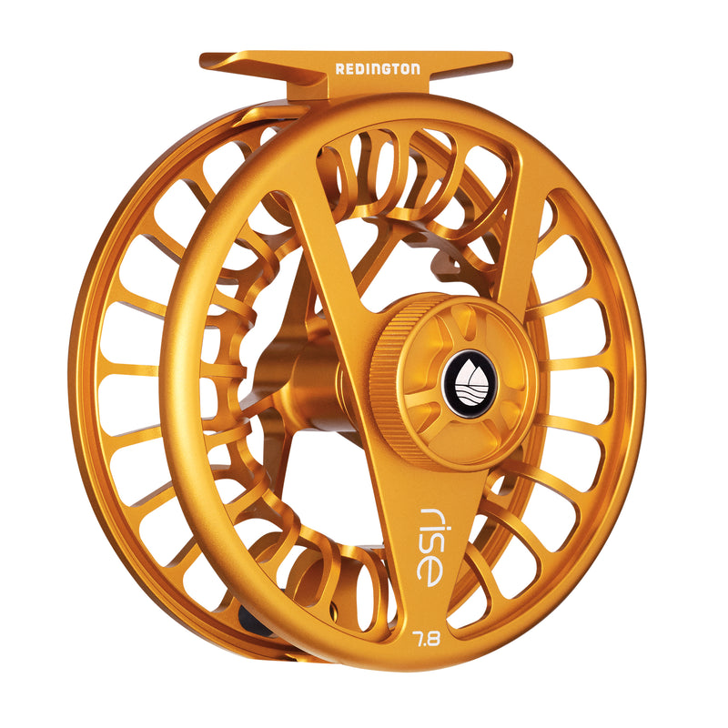 Redington Rise III fly gold reel