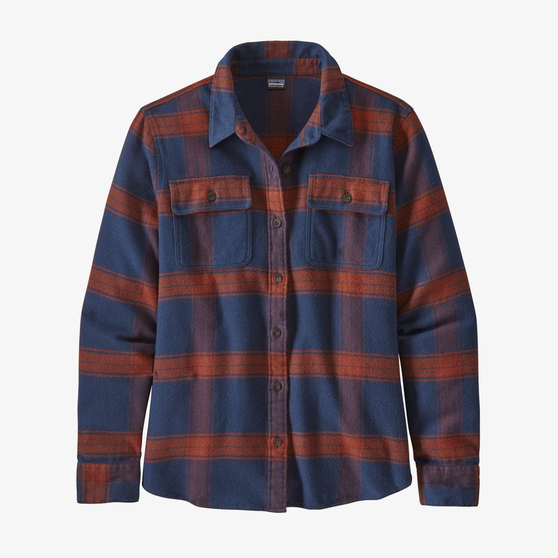 Patagonia Long-Sleeved Fjord Flannel Camicia donna