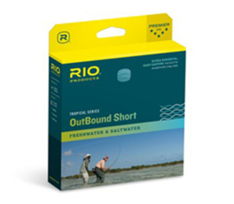 RIO Tropical Series Outbound Short Floating - Rio Tropical Outbound Short Fly Line
