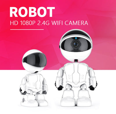 1080P Robot Intelligent Camera - Gadget Excel