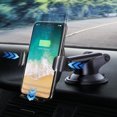2 in1 Wireless Car Charger - Gadget Excel