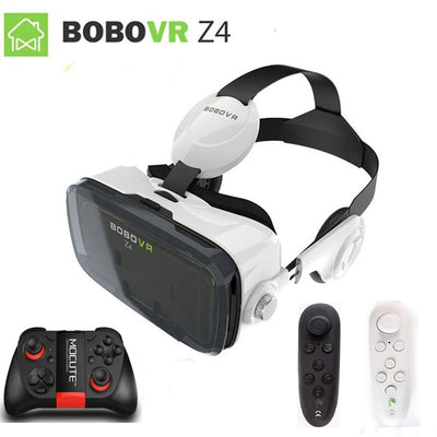 Virtual Reality 3D Glasses Headset - Gadget Excel