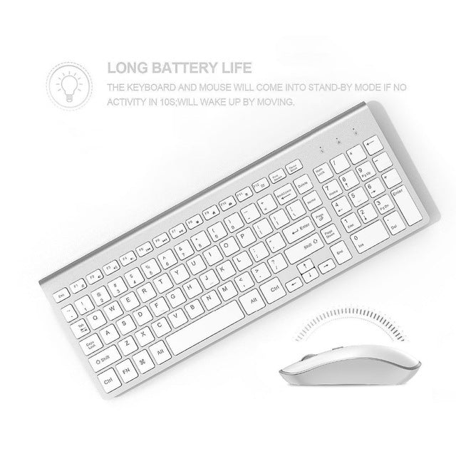 Wireless Keyboard and Mouse - Gadget Excel