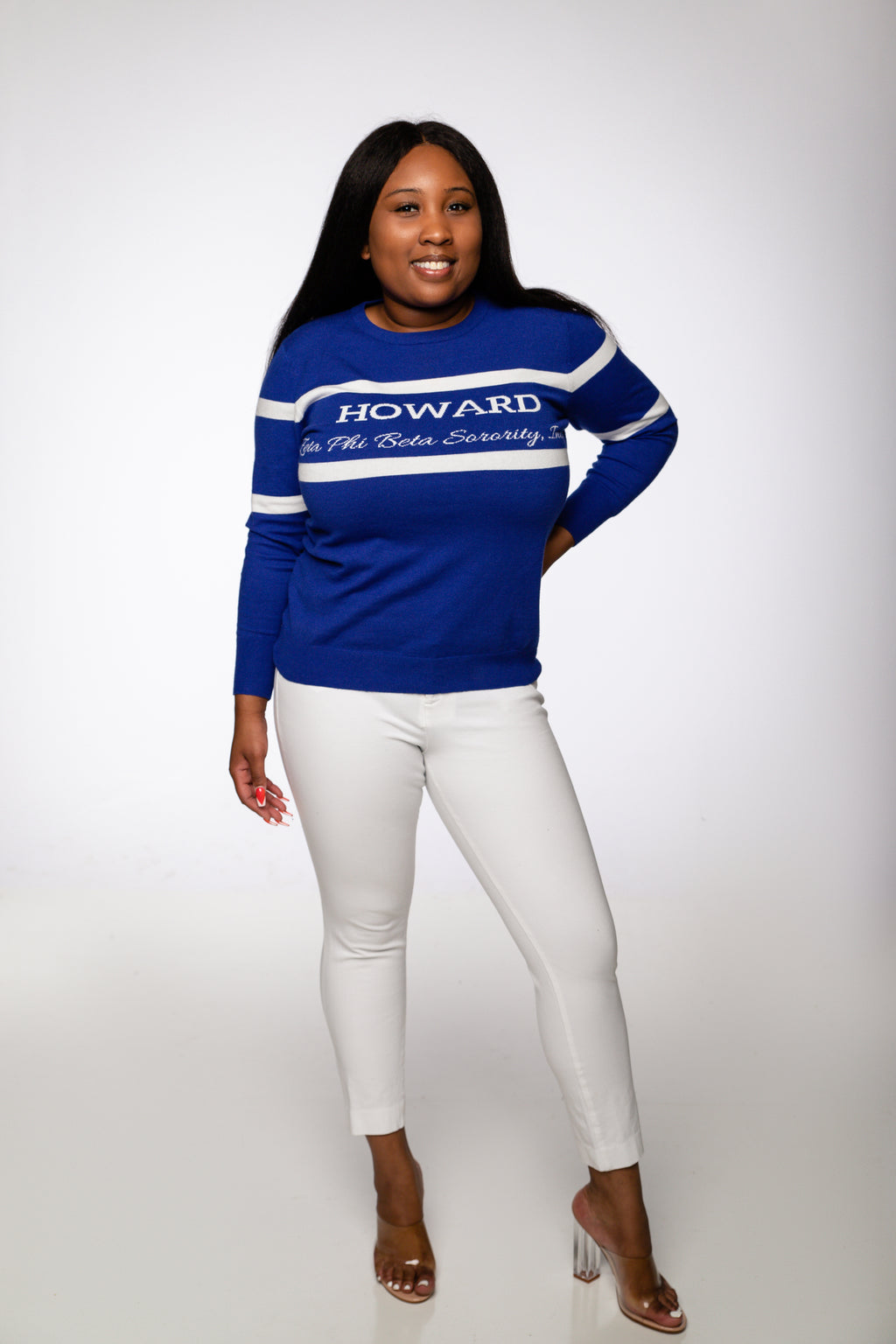 ZPhiB Howard Sweater- Royal Blue