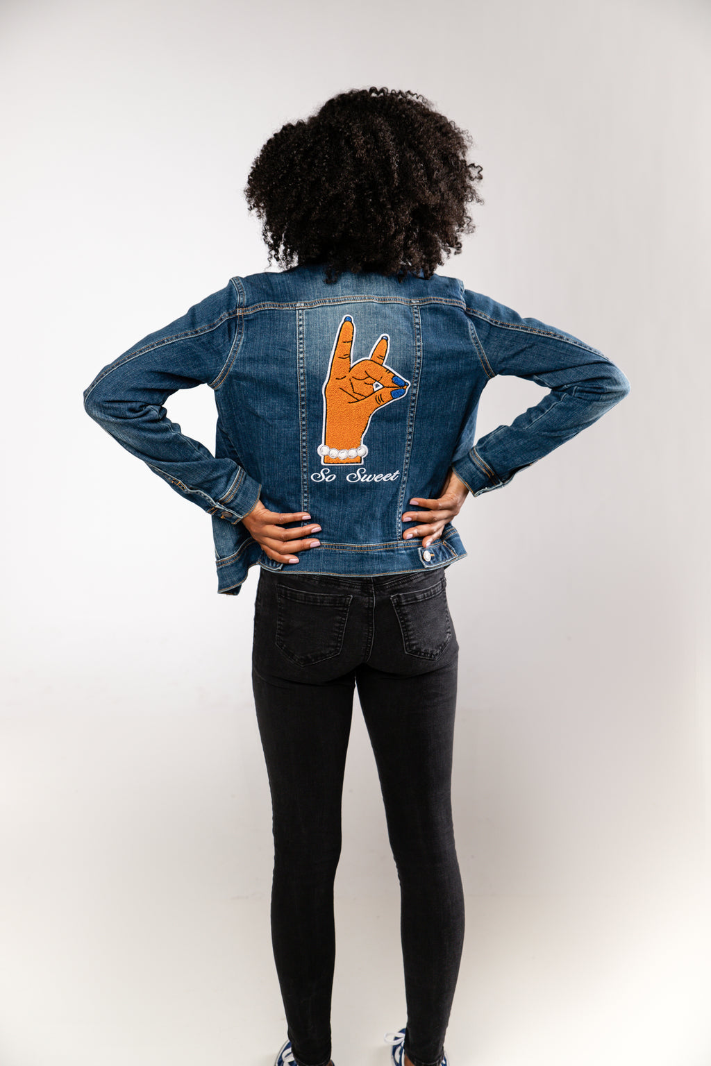 So Sweet Denim Jacket - Dark Wash